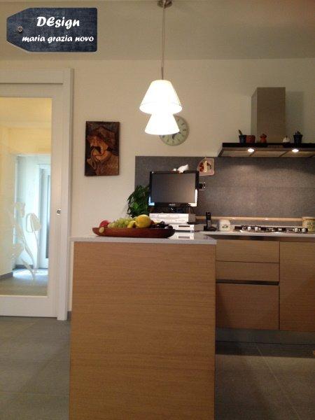 cucina vista ingresso