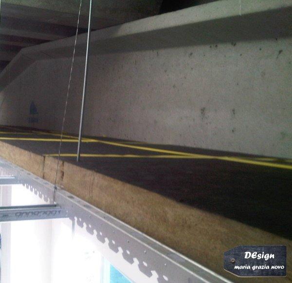 isolamento a soffitto in fibra minerale