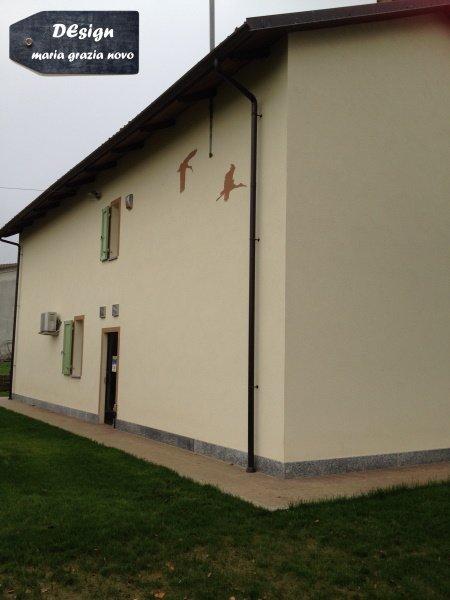 facciata nord con aperture ridotte