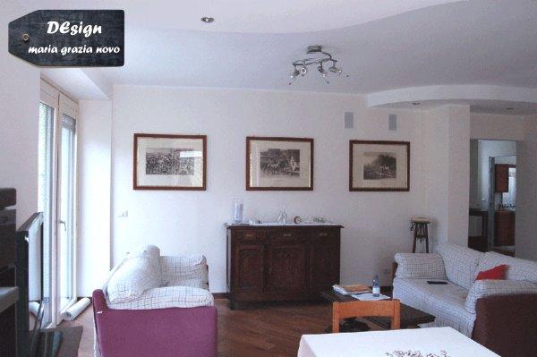 vista interna appartamento piano terra