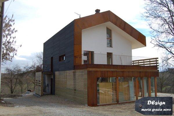 passivhaus nuova costruzione, lato nord